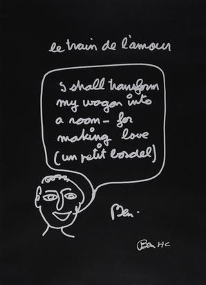 Ben (Vautier Ben), Le train de l'amour