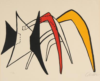 Calder Alexander, Tamanoir jaune