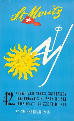Barberis Franco, St. Moritz - 42. Schweizerisches Skirennen