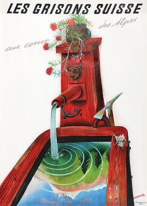 Carigiet Alois, Les Grisons Suisse