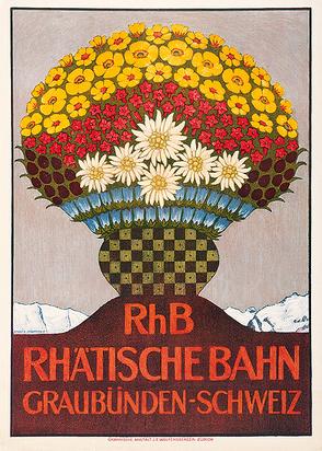 Schlatter Ernst Emil, Rhätische Bahn