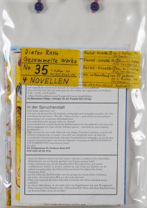 Roth Dieter, Gesammelte Werke, No. 35, 4 Novellen
