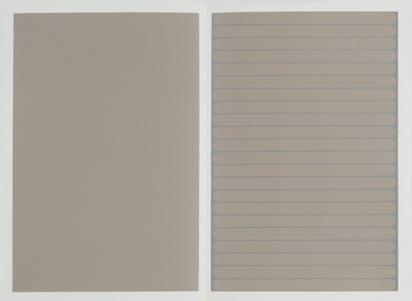 Zaugg Rémy, Folder. Siebzehn dichotomische Zustände