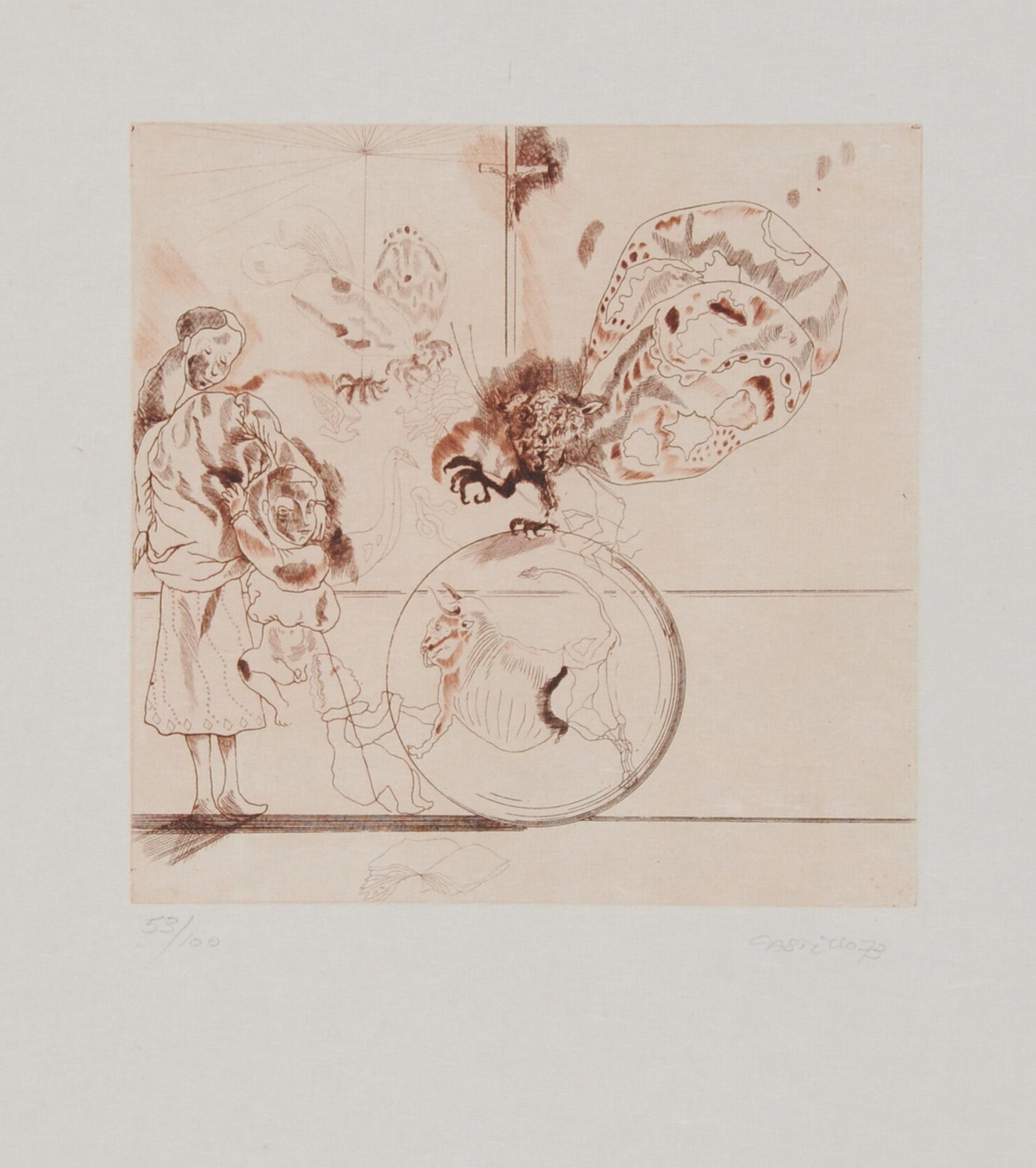 Castillo Jorge, Folder. Homenaje à Goya