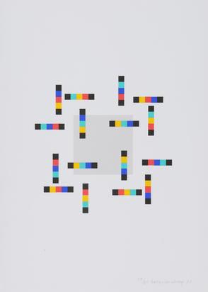 Loewensberg Verena, Portfolio. Vier Variationen um ein Quadrat
