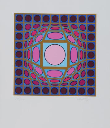Vasarely Victor, Portfolio. Vega Csillagképek