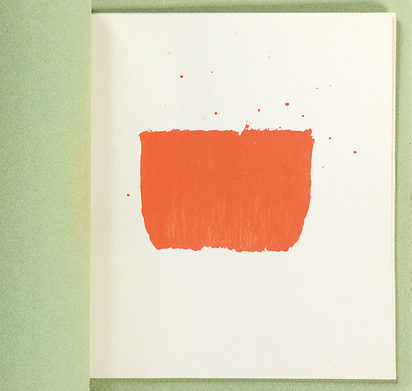 Toroni Niele, 5 empreintes de pinceau No 50