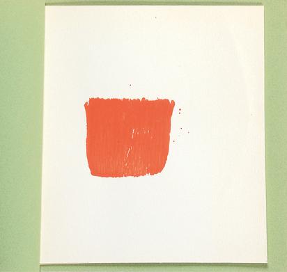 Toroni Niele, 6 empreintes de pinceau No 50