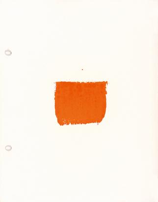 Toroni Niele, 63 empreintes de pinceau No 50