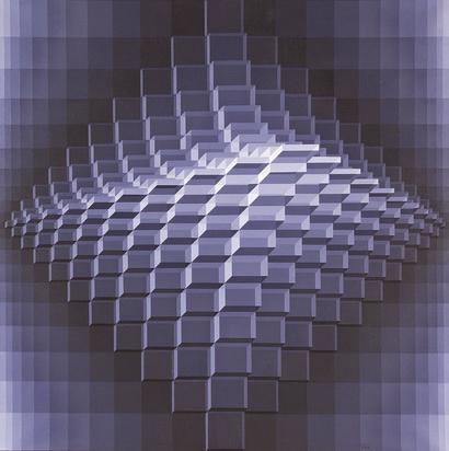 Yvaral Jean-Pierre, Structure cubique transparente