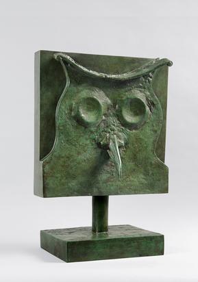 Ernst Max, Tête de chouette