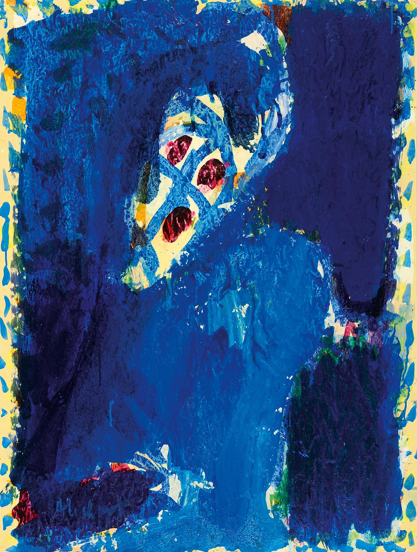 Alechinsky Pierre, Oeil gothique