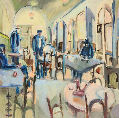 Fries Hanny, Das Café der Basken