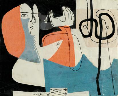Corbusier Le, Femme et corsage