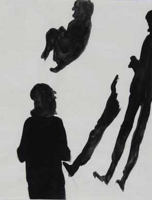 Bächli Silvia, Schwarze Figuren