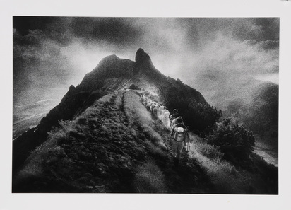 Groebli René, Mystischer Berg - Staubern, im Alpsteingebirge, Kanton Appenzell-Innerrhoden