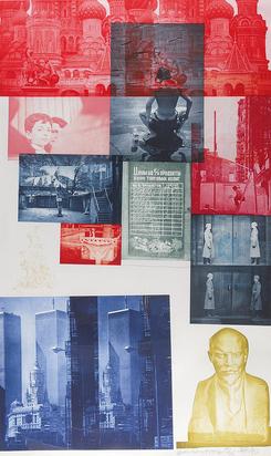 Rauschenberg Robert, Soviet/American Array I