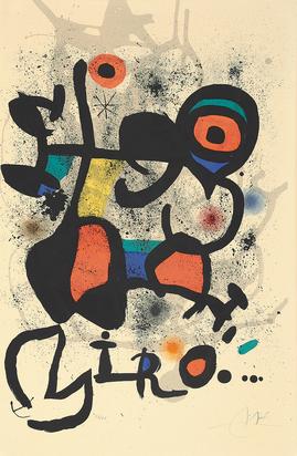 Miró Joan, Plastisches Werk