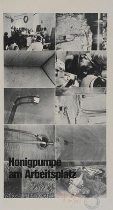 Beuys Joseph, 2 sheets: Honigpumpe am Arbeitsplatz