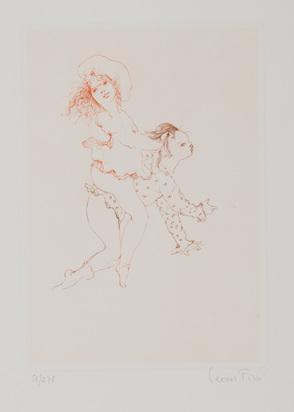 """Fini Leonor, 8  sheets from """"Les petites filles modèles"""""""