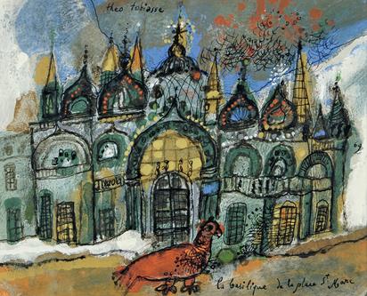 Tobiasse Théo, La basilique de la place St. Marc