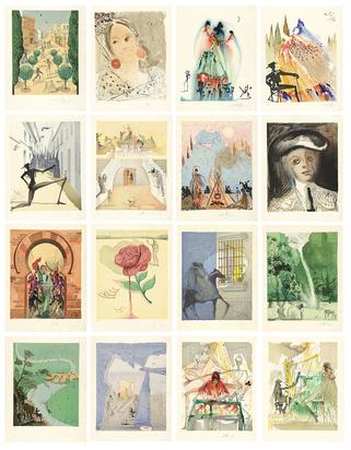 Dalí Salvador, Portfolio. The Opera Carmen