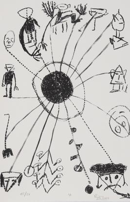 Ionesco Eugène, Portfolio. Le Blanc et Le Noir
