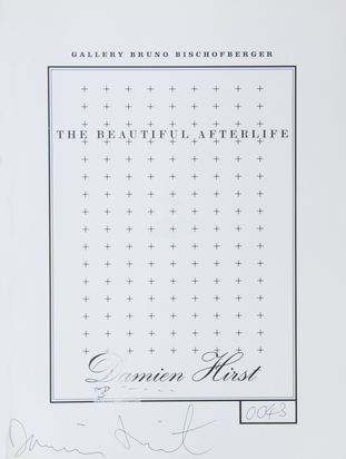 Hirst Damien, Book. The Beautiful Afterlife