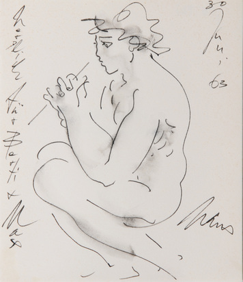 Erni Hans, 3 Books: Walter Rüegg. Hans Erni, Relief Malerei