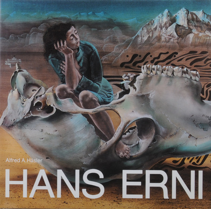 Erni Hans, 3 works: Folder. 6 bicolored lithographs