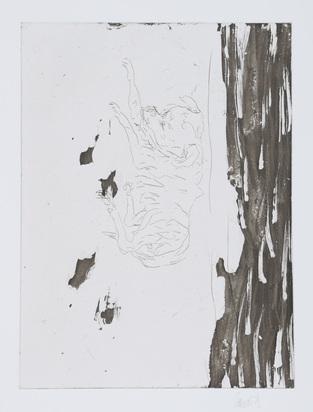 """Baselitz Georg, Hondo, from """"Schlafende Hunde"""""""