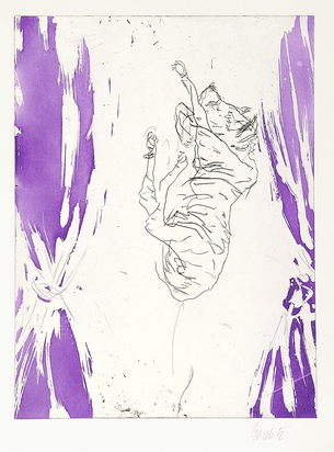"Baselitz Georg, Untitled, from ""Schlafende Hunde"""