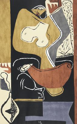 Corbusier Le, Femme à la main levée