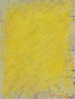 Berner Bernd, 2 sheets: Flächenraum, grey, 1964; Flächenraum, yellow