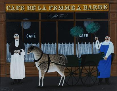 Balet Jan, Cafe de la femme à barbe