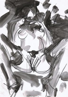 Castelli Luciano, Female nude