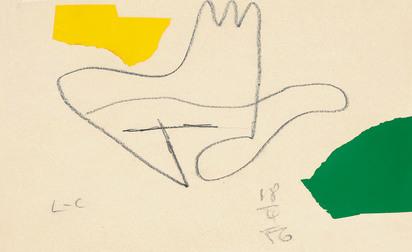 Corbusier Le, Sans titre (Main)