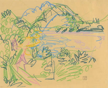 Müller Albert, Tessiner Landschaft (Am Lago Maggiore)