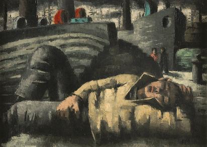 Masereel Frans, Mousse endormi