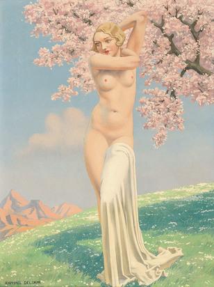 Delorme Raphaël, Femme nue