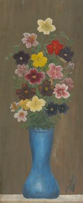 Bauchant André, Bouquet de fleurs