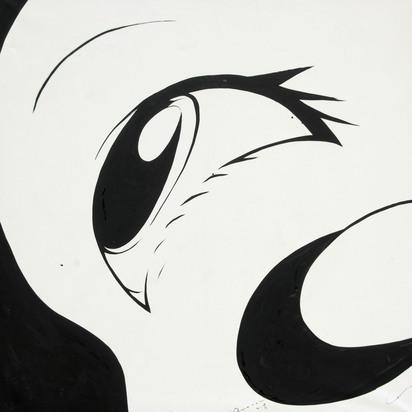 Amano Yoshitaka, Untitled (Eye Profile)