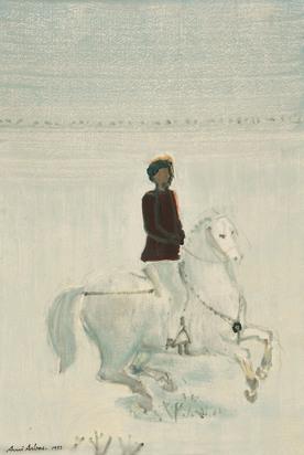 Arbas Avni, Cavalier