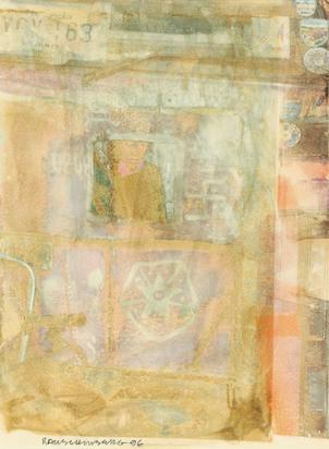 Rauschenberg Robert, Shield (Anagrams)