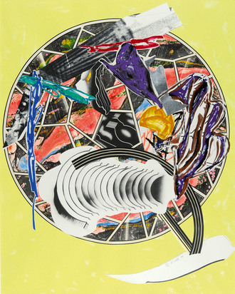 """Stella Frank, The Whale as a Dish 1989, from """"The Waves"""""""