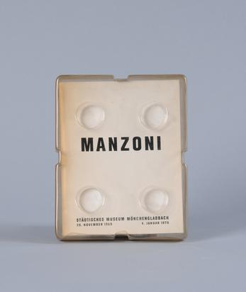 Manzoni Piero, Manzoni - Städtisches Museum Mönchengladbach, 26. November 1969 - 4. Januar