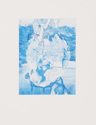 Schweizer Grafik 20.Jh., 2 Folders: Lutz & Guggisberg. Kleine Badende I-IV, 2006