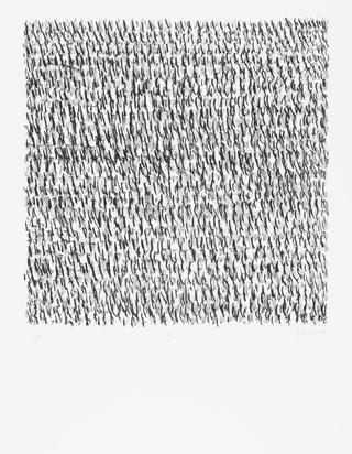 Uecker Günther, Folder. Manuelle Strukturen
