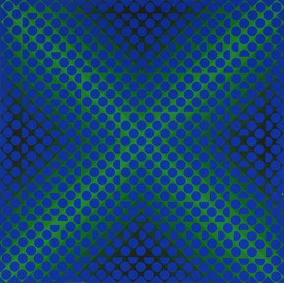 Vasarely Victor, 2 sheets: CTA 102