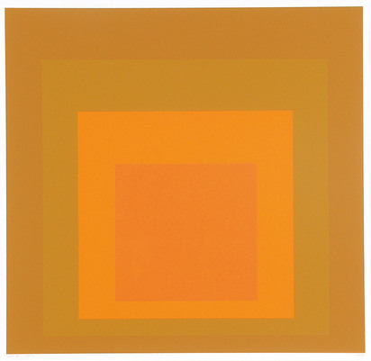 "Albers Josef, SP-XI, from ""Portfolio of 12 Screenprints"""
